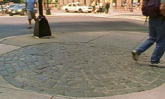 "The Boston Massacre site as seen in John Gianvito's film ""Profit motive and the whispering wind"""